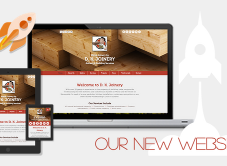 The Launch of our new Website!