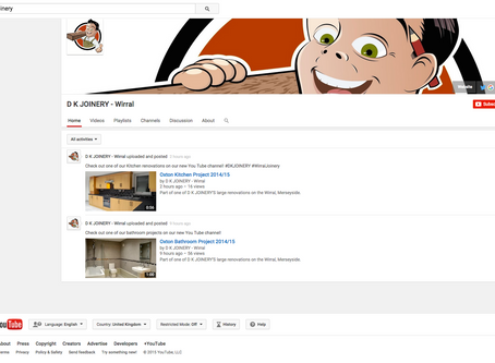 Our new 'YouTube' Channel!