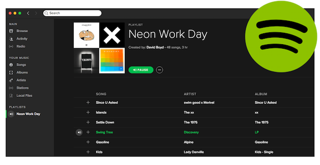 Tradesmen! Let's Help you get your Groove on at Work! - d K JOINERY | Wirral - Spotify Playlists...
