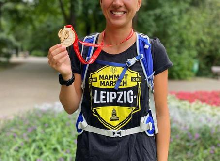30 Kilometer Wandern.. Mammut Marsch Leipzig