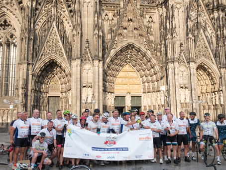 Managing Director completes 500 mile bike ride for charity