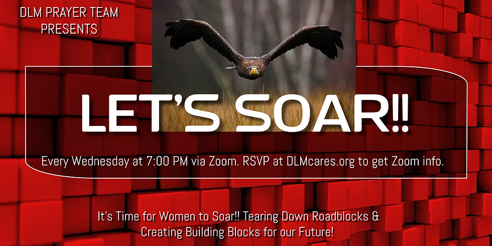 It's Time For Women to Soar! Tearing Down Roadblocks & Creating Building Blocks for YOUR Future!!!