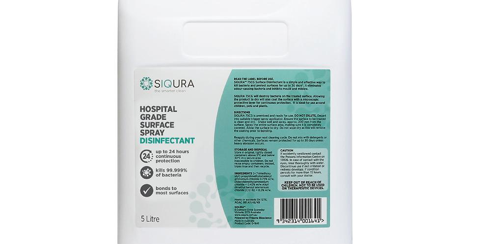 5L SIQURA Hospital Grade Surface Disinfectant