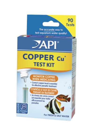Copper Test Kit - 90 Tests - API