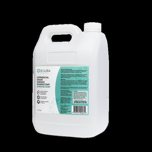 5L Siqura Surface Sanitiser & Disinfectant Commercial Grade