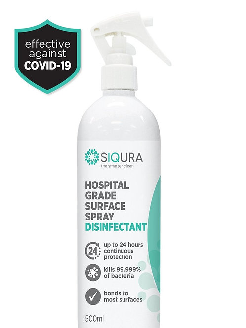 500ml Hospital Grade Surface Spray Disinfectant