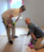 WARM Voluneers Flooring