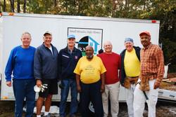 Veteran Homeowner with Volunteers