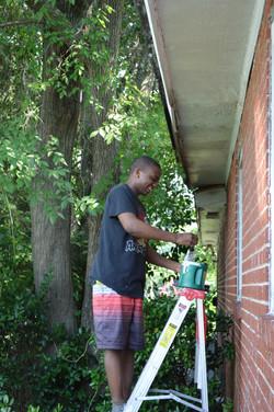 Volunteer Painting Home Repairs