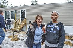 WARM Staff Member Melanie with Volunteer