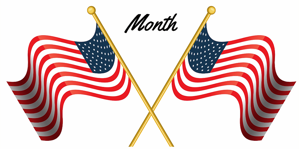 July is PARKS & RECREATION Month