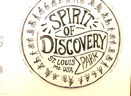 SPIRIT OF DISCOVERY PARK; Logo Exploration