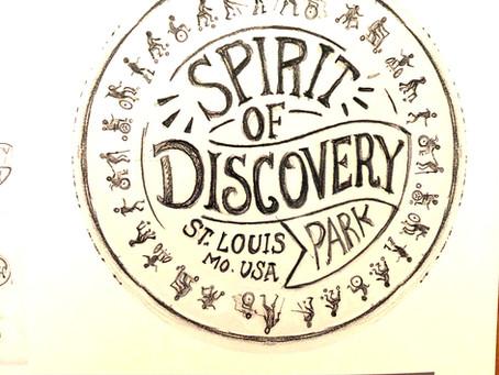 SPIRIT OF DISCOVERY PARK; Logo Exploration