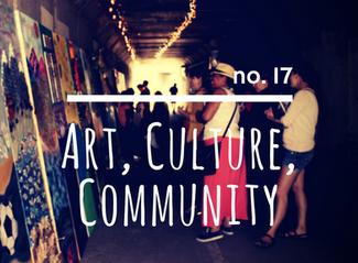 no. 17: Art, Culture, Community