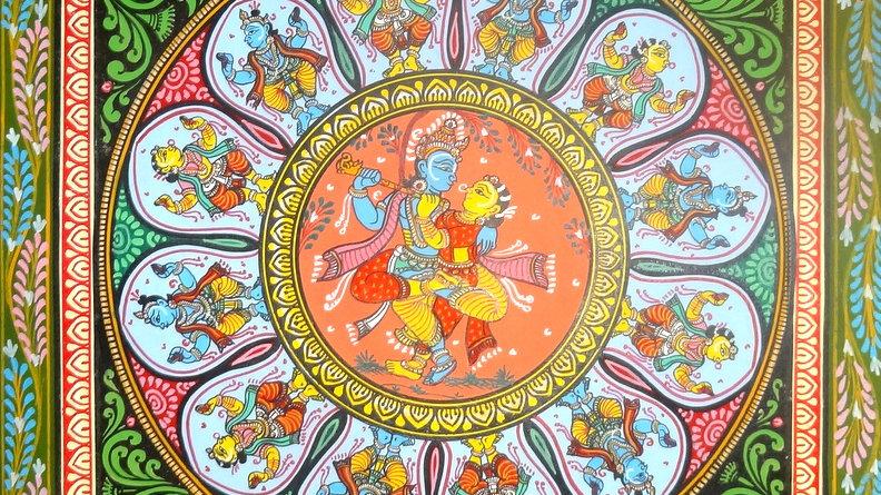 Pattachitra Painting - Dasavatar