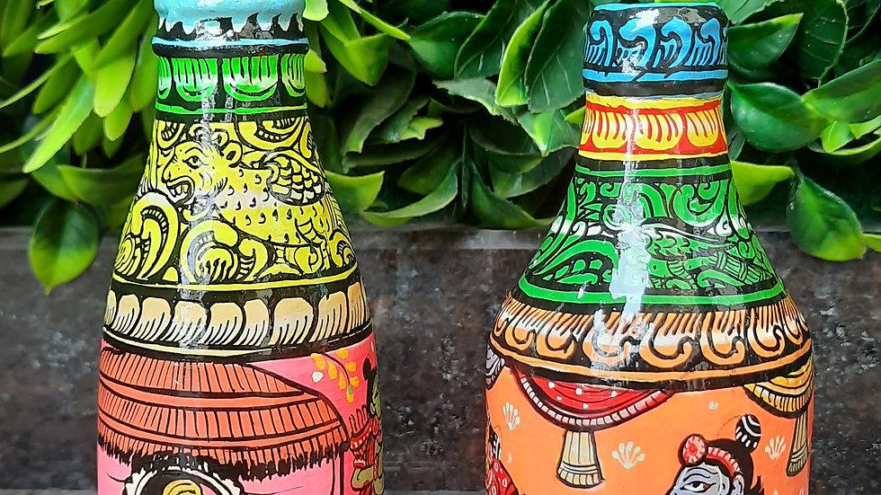Pattachitra Bottles- Story Design - Small