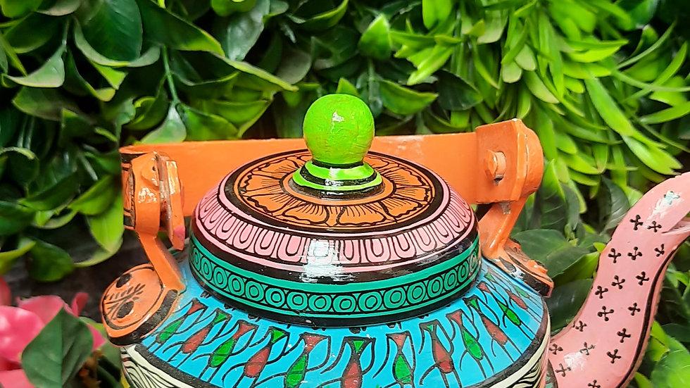 Kettle - Saura Art (Odisha Tribal Art)