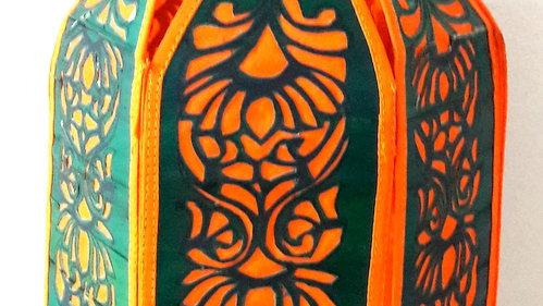 """Palm Leaf Lanterns - 18"""""""