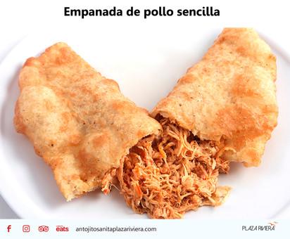 Empanada de pollo sencilla