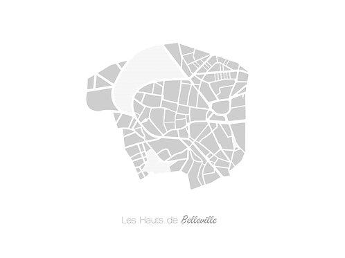 LES HAUTS DE BELLEVILLE