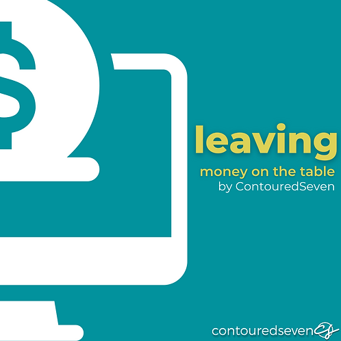 Leaving Money On The Table eBook