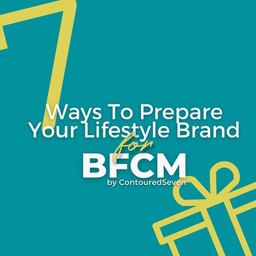 BFCM Checklist