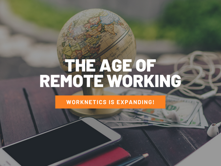 The Age of Remote Working - Worknetics is Expanding!