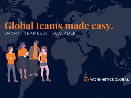 Hi, we're now Worknetics Global!