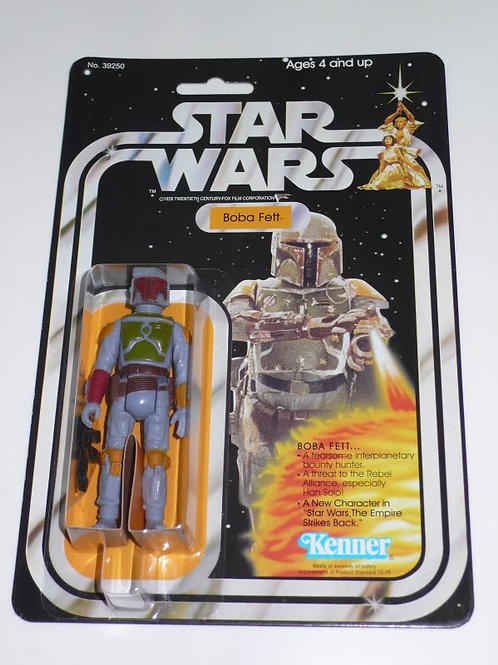 Vintage 1978 Star Wars 21 Back Boba Fett