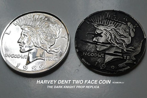 TDK Two Face Replica Coin