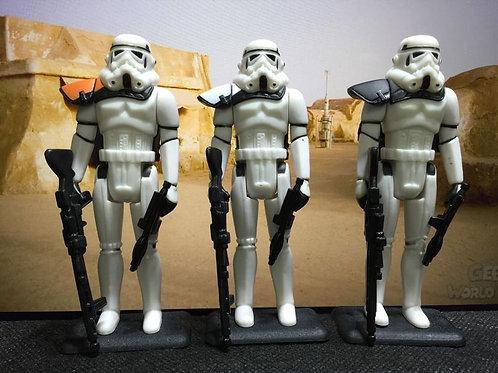 1x Custom Vintage Star Wars Sandtrooper ( Army Trooper Builder )