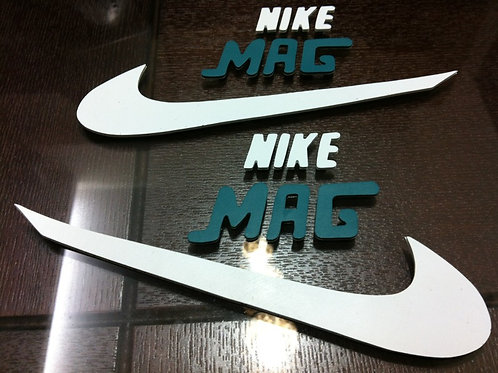 BTTF Nike MAG Rubber Decal Upgrade Kit