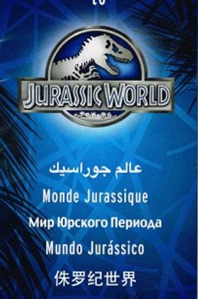 Jurassic Park World Brouchure
