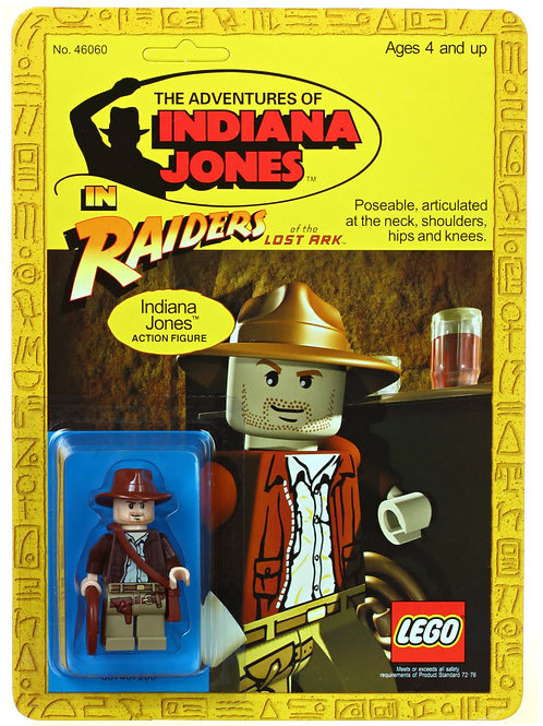 Carded Lego Mini Figure Kenner Style