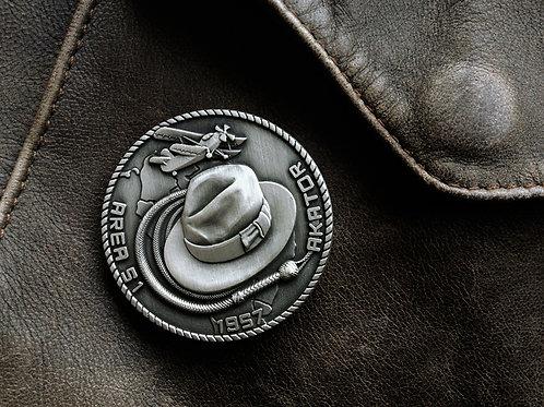 Crystal Skull Challenge Coin