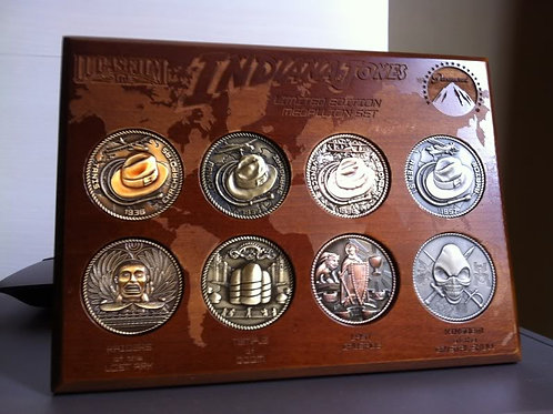 Indiana Jones Challenge Coin Set