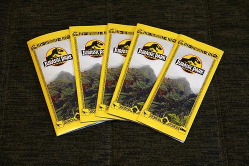 Jurassic Park Tour Brouchure