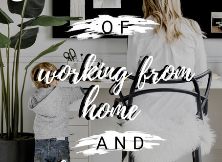 5 Balancing tips of working from home and being a mom