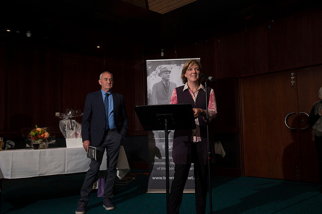 Tom Roberts 'Go forward, dear' book launch photos