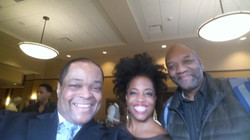 Producer Director Frazier Prince Actress Singer Rhonda Ross and Producer Copes White