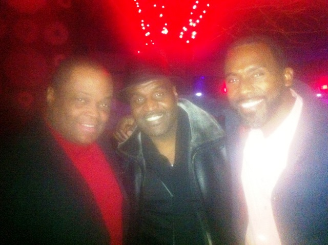 Producer Director Frazier Prince with FMD and Producer Khalil Lundy, Actor Producer Gano Grills