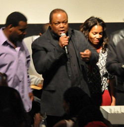 force mds hb premiere.Producer Director Frazier Prince at pr