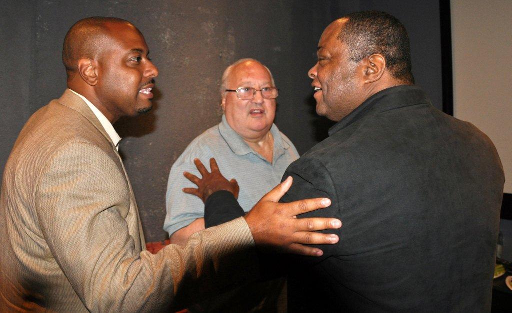 Producer Mike James,CEO Terry Levene Aquarius Media,Frazier Prince