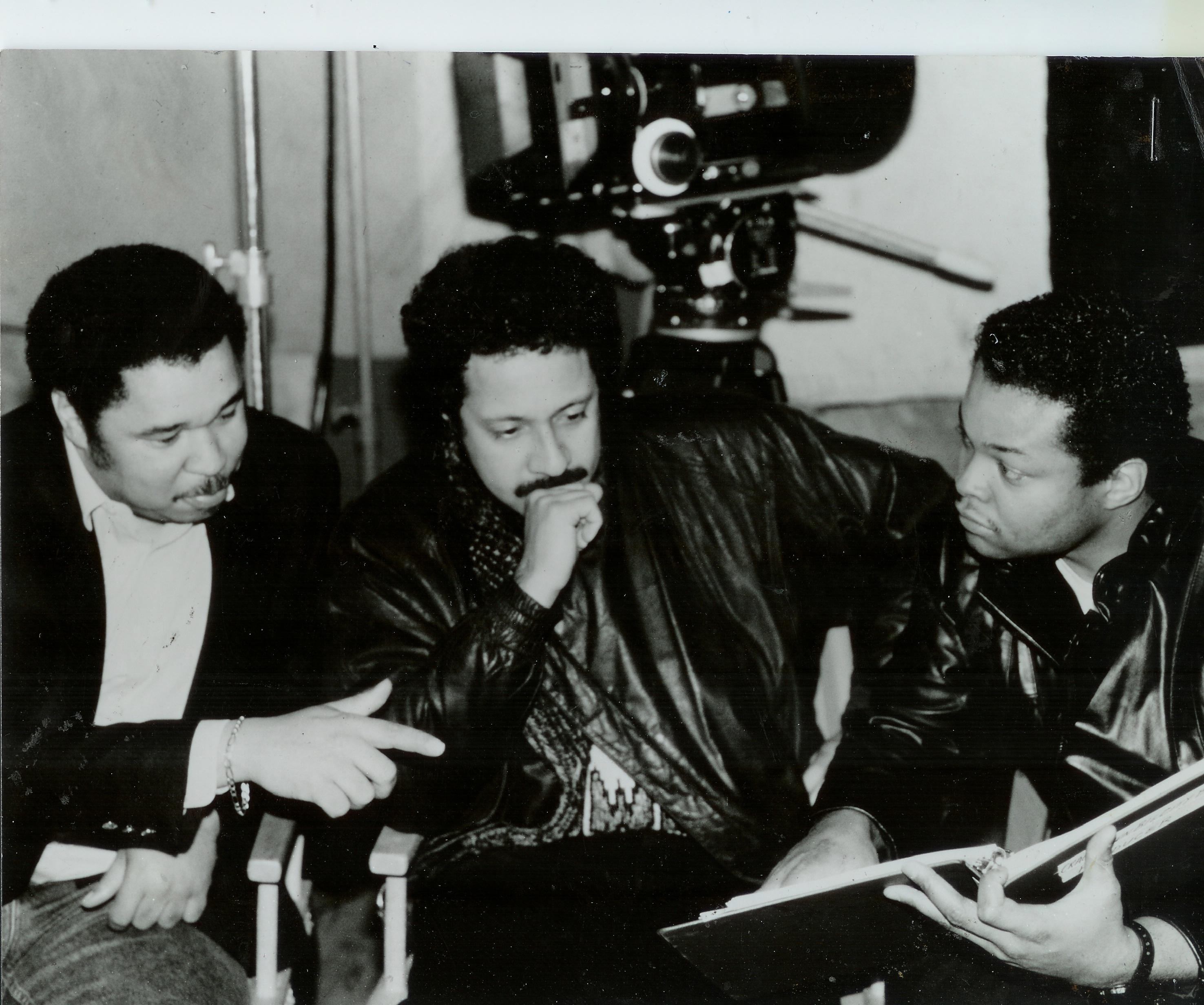 Producer Director Frazier Prince on set Crackdown Big City B