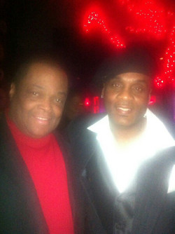 Producer Director Frazier Prince with Stevie D of Force M.D.s