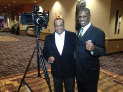 Producer Direcror Frazier Prince w Michael Spinks