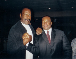 Actor Producer Fred Williamson,Producer Director  Frazier Prince