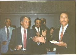Dr. J. Scott Kennedy, Producer Director Frazier Prince, Actor Producer Leon Isaac Kennedy