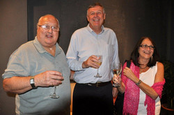 Aquarius CEO Terry Levene,Filmmaker Jim Markovic,Mrs. Terry