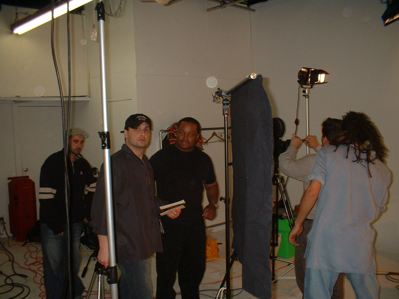 Uh Oh video shoot with Producer Director Frazier Prince
